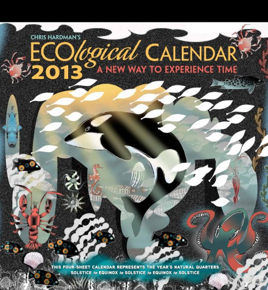 2013 ECOlogical Calendar Cover