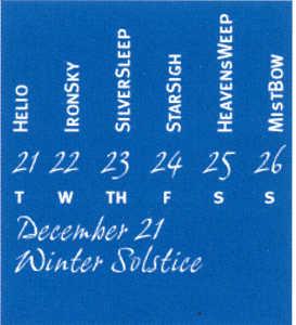 CalendarBand Example