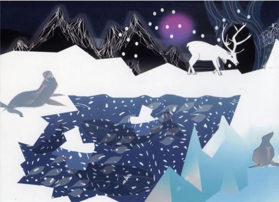Celeste Notecard – WinterScene