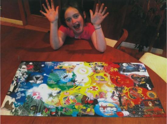 Puzzle Fan, Maya, Age 8